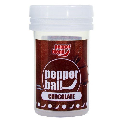Pepper Ball Chocolate - Explosão de Sabor no Sexo Oral